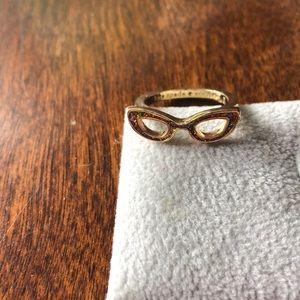 Kate spade glasses ring